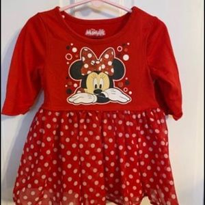 Minnie Mouse set for toddler girl - 3T
